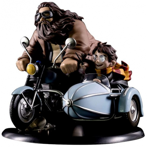 Q-Fig Harry Potter and Rubeus Hagrid