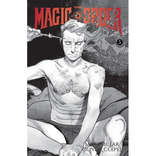 MAGIC ORDER 5 (OF 6) CVR B B&W COIPEL (VO) Mark Millar - Olivier Coipel