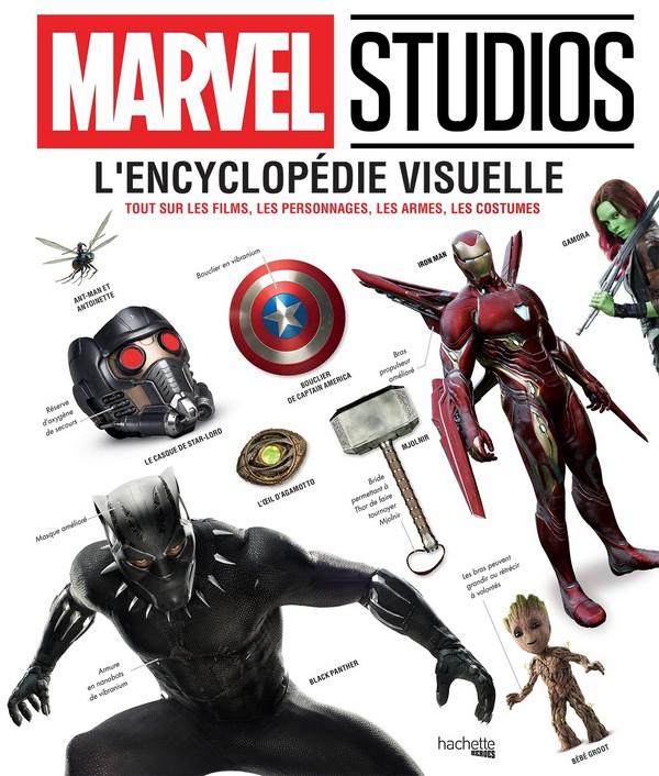 Marvel L'Encyclopédie Visuelle: Tout sur les films, les personnages, les armes, les costumes (VF)