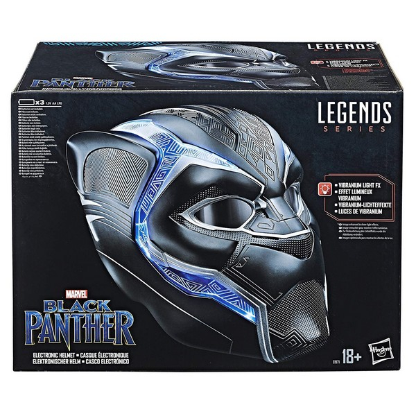 Legend Series Casque Black Panther Collector