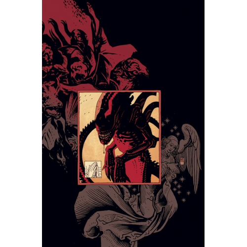 Print ALIENS 01 - MIKE MIGNOLA - Original Fine Arts - Limited to 100