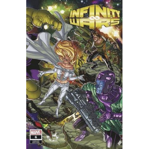 INFINITY WARS #6 (OF 6) GARRON CONNECTING VAR(VO)