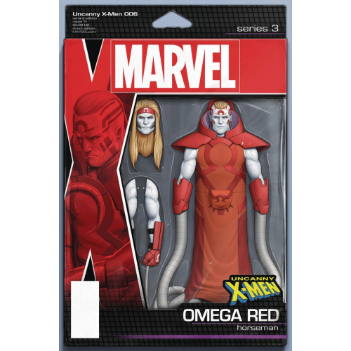 UNCANNY X-MEN 6 CHRISTOPHER ACTION FIGURE VAR (VO)