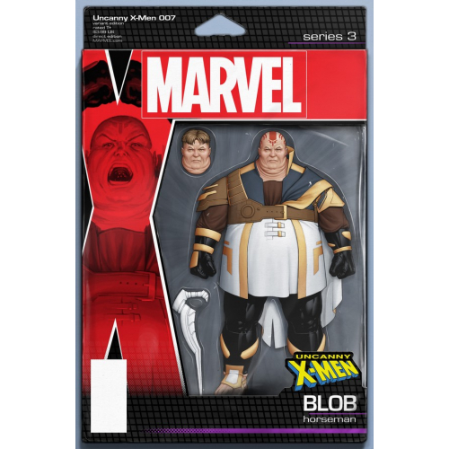 UNCANNY X-MEN 7 CHRISTOPHER ACTION FIGURE VAR (VO)