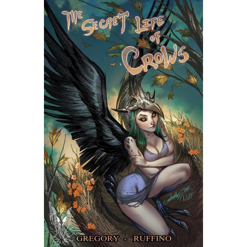 Print Secret Life of Crows - J. Scott Campbell - Original Fine Arts - Limited to 100