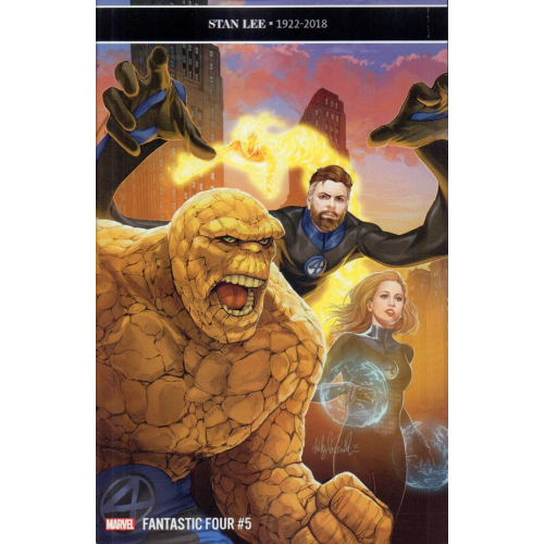 FANTASTIC FOUR 5 Variant Edition (VO)