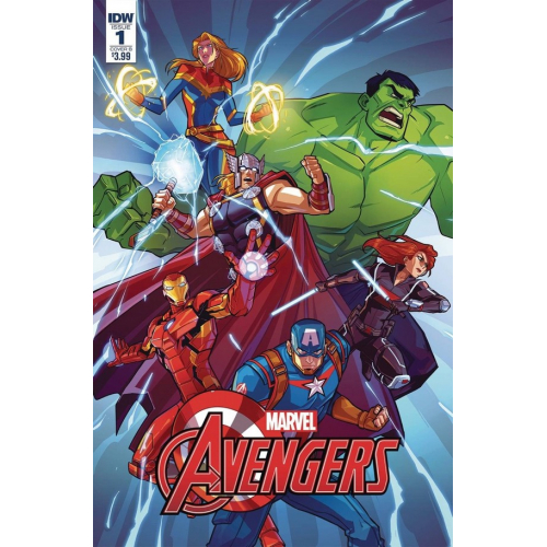 MARVEL ACTION AVENGERS 1 VARIANT EDITION (VO) IDW