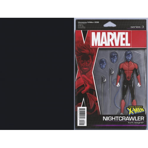 UNCANNY X-MEN 8 CHRISTOPHER ACTION FIGURE VAR (VO)