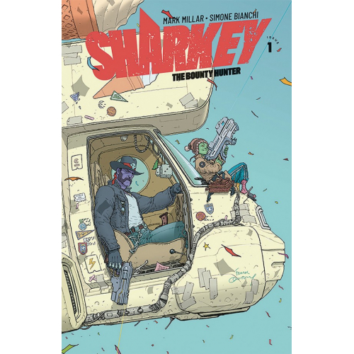 SHARKEY THE BOUNTY HUNTER 1 (VO) MILLAR - BIANCHI - QUITELY VARIANT
