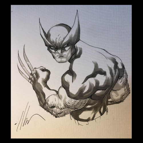 Dessin Original : Wolverinepar Ale Garza