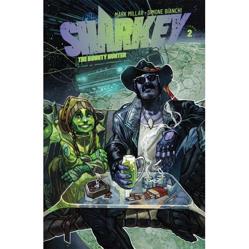 SHARKEY THE BOUNTY HUNTER 2 (VO) MARK MILLAR - SIMONE BIANCHI