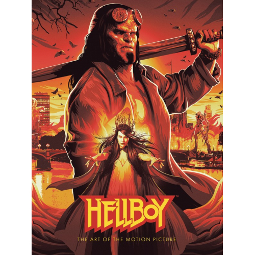 HELLBOY HC ART OF MOTION PICTURE (VO)