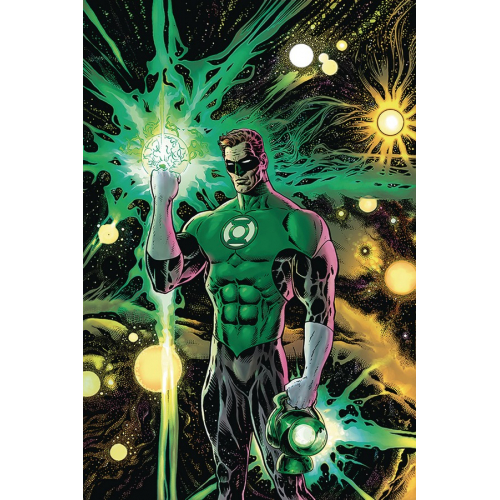 DF GREEN LANTERN 1 LIAM SHARP SGN (VO)