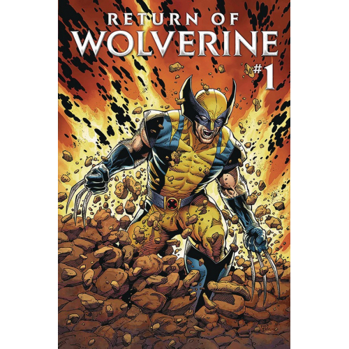 DF RETURN OF WOLVERINE 1 SGN ROMITA SR (VO)