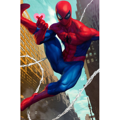 FRIENDLY NEIGHBORHOOD SPIDER-MAN 1 ARTGERM VAR (VO)