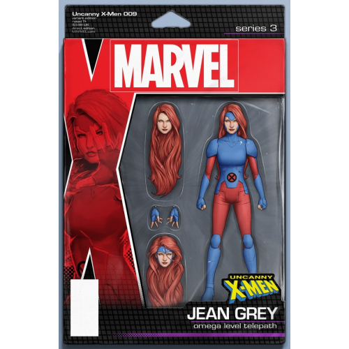 UNCANNY X-MEN 9 CHRISTOPHER ACTION FIGURE VAR (VO)
