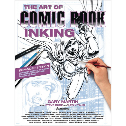 ART OF COMIC BOOK INKING TP 3RD EDITION (VO)