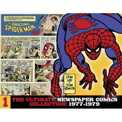 AMAZING SPIDER-MAN ULT NEWSPAPER COMICS HC VOL 01 1977-1979 (VO)