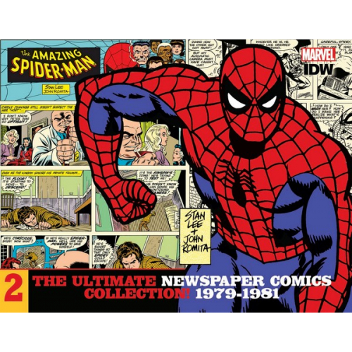 AMAZING SPIDER-MAN ULT NEWSPAPER COMICS HC VOL 02 1979-1981 (VO)