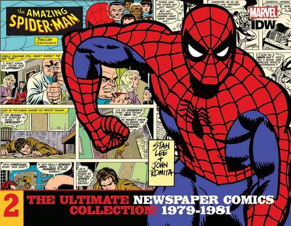 AMAZING SPIDER-MAN ULT NEWSPAPER COMICS HC VOL 02 1979-1981 (VO)
