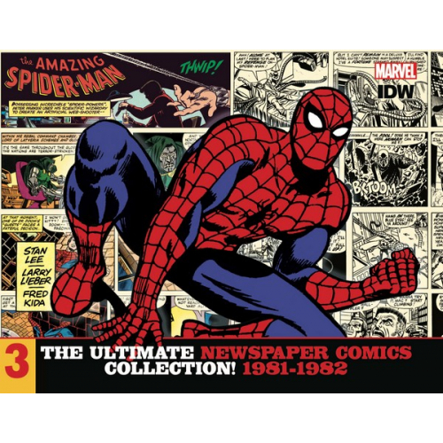 AMAZING SPIDER-MAN ULT NEWSPAPER COMICS HC VOL 03 1981-1982 (VO)