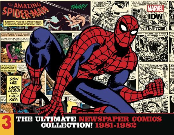 AMAZING SPIDER-MAN ULT NEWSPAPER COMICS HC VOL 03 1981-1982 (VO)