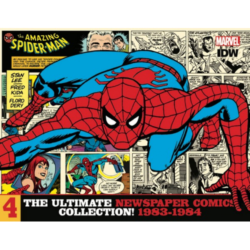 AMAZING SPIDER-MAN ULT NEWSPAPER COMICS HC VOL 04 1983-1984 (VO)