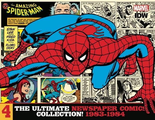 AMAZING SPIDER-MAN ULT NEWSPAPER COMICS HC VOL 04 1983-1984 (VO)