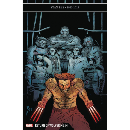 RETURN OF WOLVERINE 4 (OF 5) SHALVEY VAR (VO)