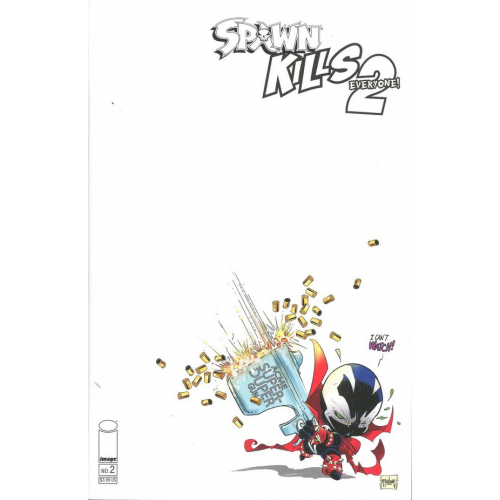 Spawn Kills Everyone Too 2 of 4 Cover B Sketch Cover (VO)