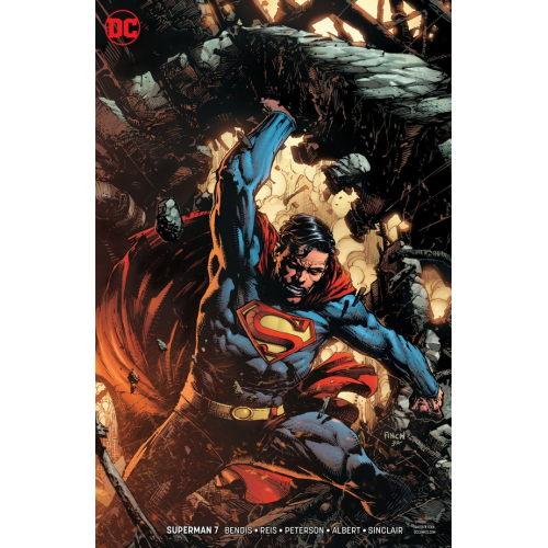 Superman 7 Finch Variant (VO)