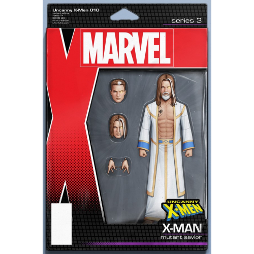 UNCANNY X-MEN 10 CHRISTOPHER ACTION FIGURE VAR (VO)