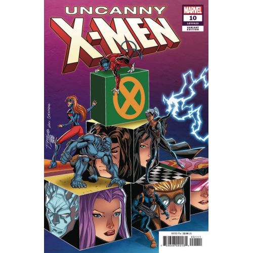 UNCANNY X-MEN 10 LIM VAR (VO)