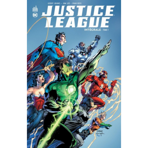 Justice League Intégrale Tome 1 (VF)