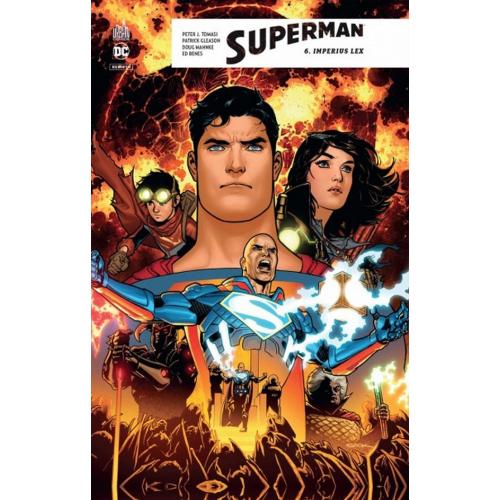 Superman Rebirth Tome 6 (VF)