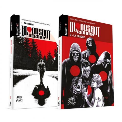 Bloodshot Reborn Pack tomes 1 et 2 (VF)