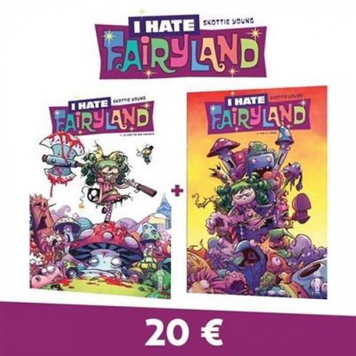 I HATE FAIRYLAND PACK T01 + T02 (VF)