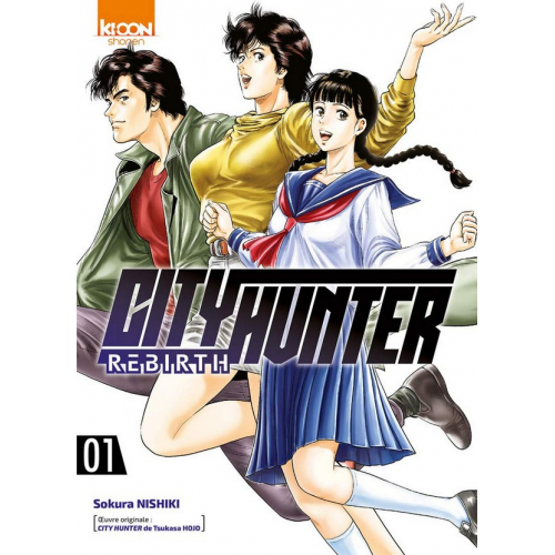 City Hunter Rebirth Tome 1 (VF)