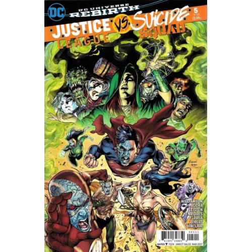 Justice League Vs Suicide Squad 5 (of 6) VO