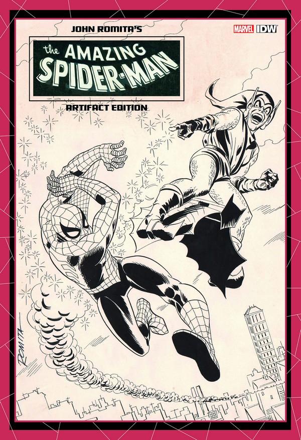 JOHN ROMITA AMAZING SPIDER-MAN ARTIFACT ED HC (VO)