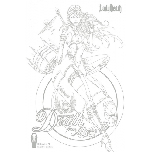 Lady Death : Hellraiders 1 10 copy Tyndall Incentive (VO)