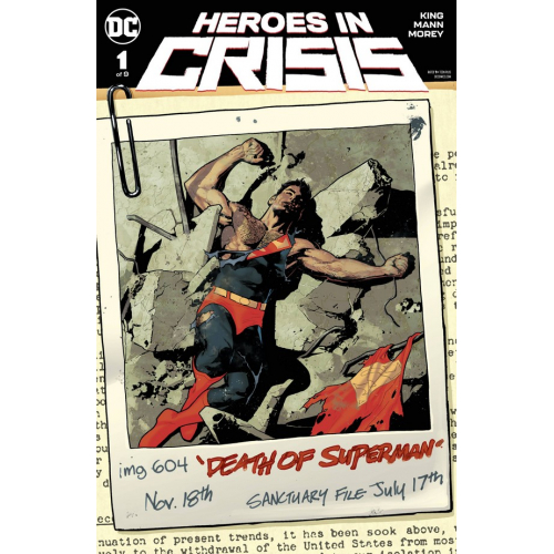 DF HEROES IN CRISIS 1 SGN KING (VO)