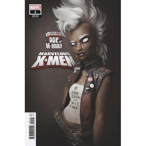 AGE OF X-MAN MARVELOUS X-MEN 1 (OF 5) HUGO VAR (VO)