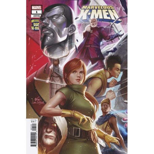 AGE OF X-MAN MARVELOUS X-MEN 1 (OF 5) (VO)