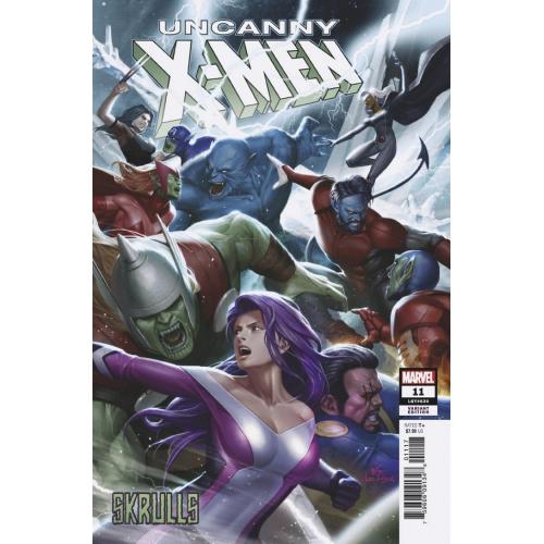 UNCANNY X-MEN 11 INHYUK LEE SKRULLS VARR (VO)