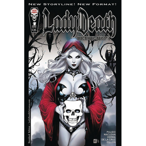 LADY DEATH APOCALYPTIC ABYSS 1 (OF 2) STANDARD COVER (VO)