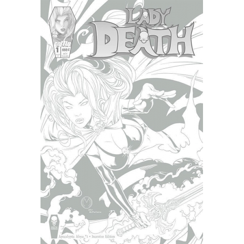 LADY DEATH APOCALYPTIC ABYSS 1 (OF 2) STANDARD COVER