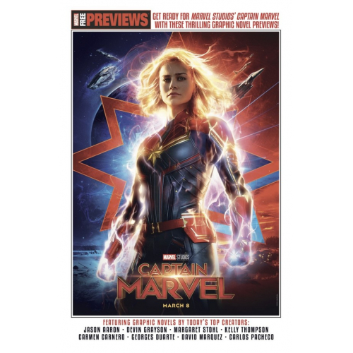 GRATUIT: CAPTAIN MARVEL SAMPLER 2019 (VO)