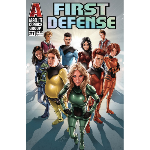 FIRST DEFENSE 1 (VO) HOLOGRAPHIC FOIL COVER