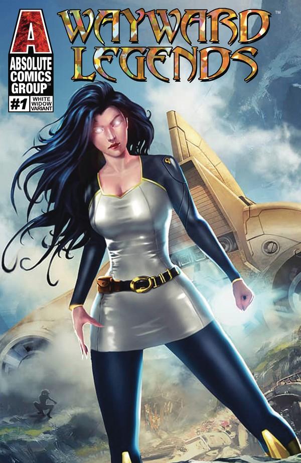 KATRINA 1 (VO) WHITE WIDOW COVER - JAMIE TYNDALL